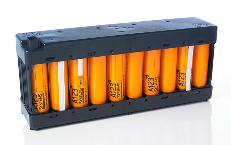 A123 Systems Battery Pack1