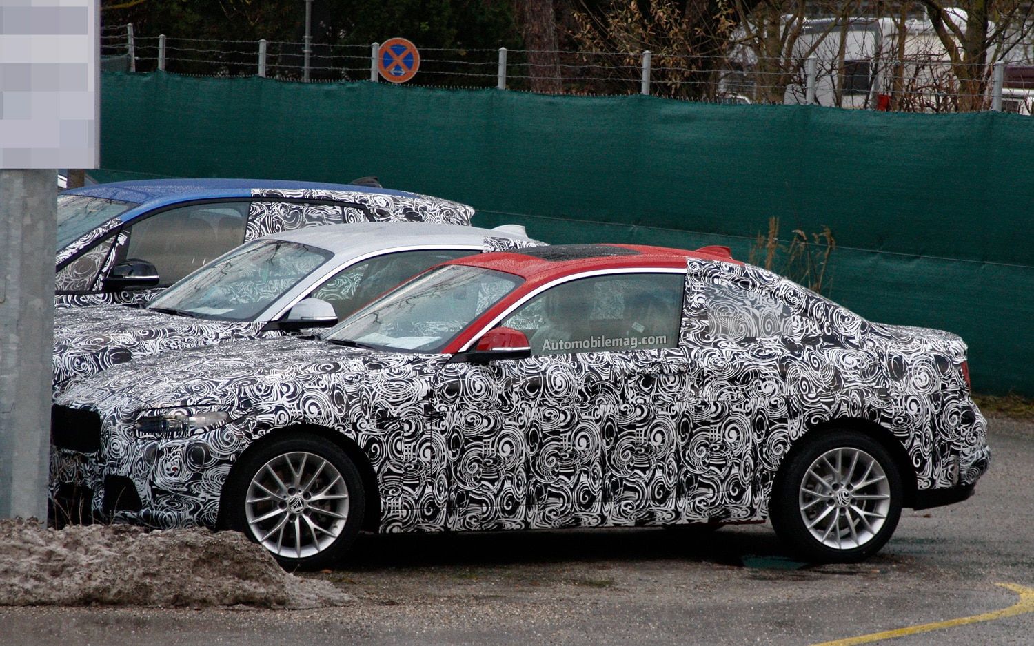 BMW 2 Series Coupe Spy Photo Front Three Quarter 41