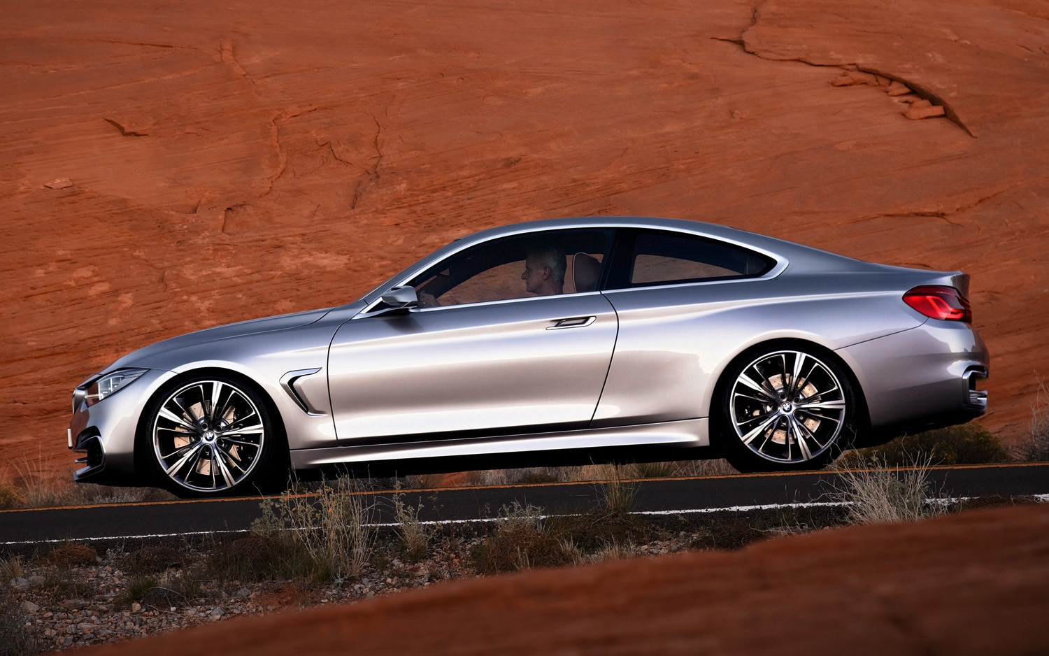 first look bmw 4 series coupe concept automobile magazine. Black Bedroom Furniture Sets. Home Design Ideas