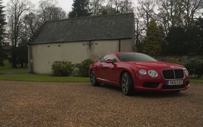 Bentley Continental GT Coupe Scotland 660x413