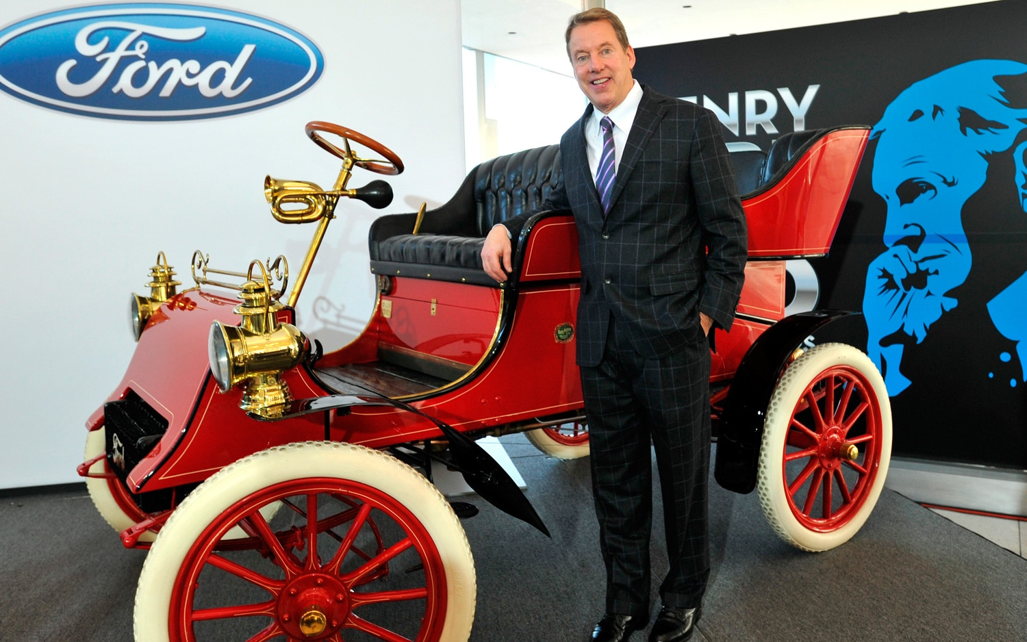 Bill Ford With 1903 Ford Model A1