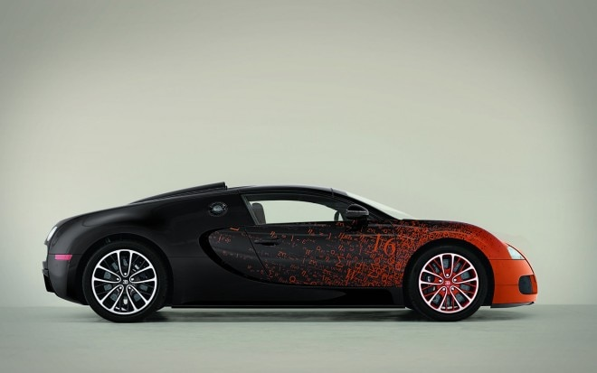 Bugatti Veyron Grand Sport Art Car Right Side View1 660x413