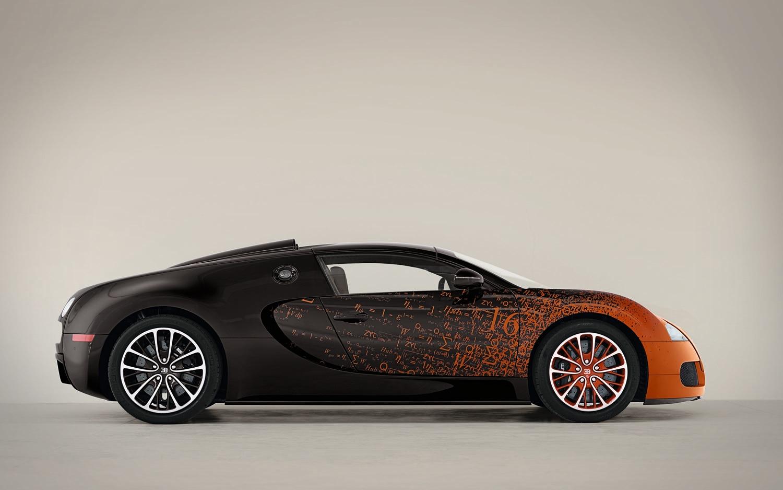 Bugatti Veyron Grand Sport Art Car Right Side View1
