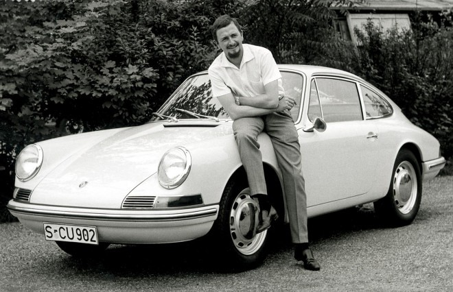 Ferdinand Alexander Porsche and early 911