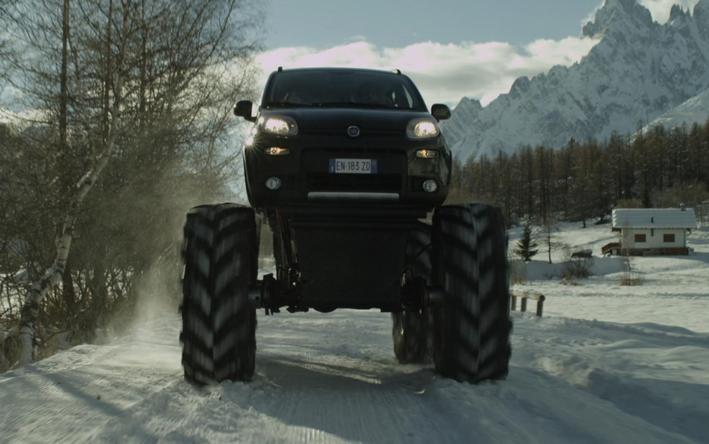 Fiat Monster Panda Front1