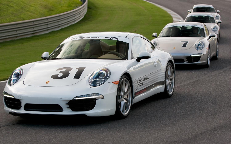 Porsche Front Left View1