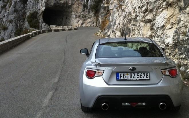 Subaru BRZ On Route Napoleon 2 660x413