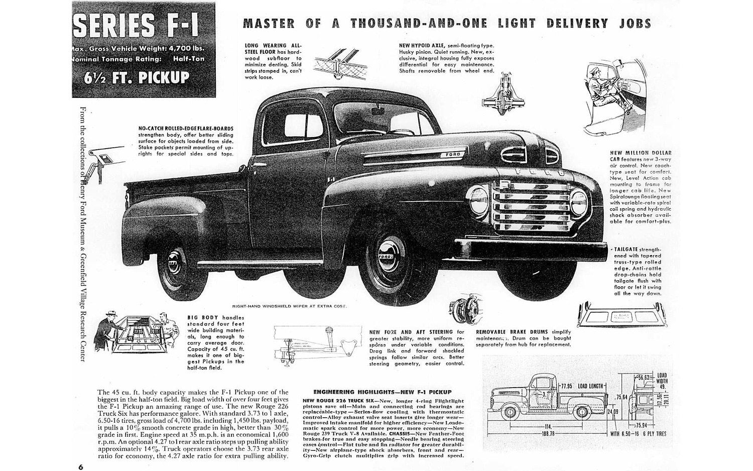 1948 Ford Truck Wiring Diagram F1 Drawing Pixshark Com Images Diagrams 1500x938