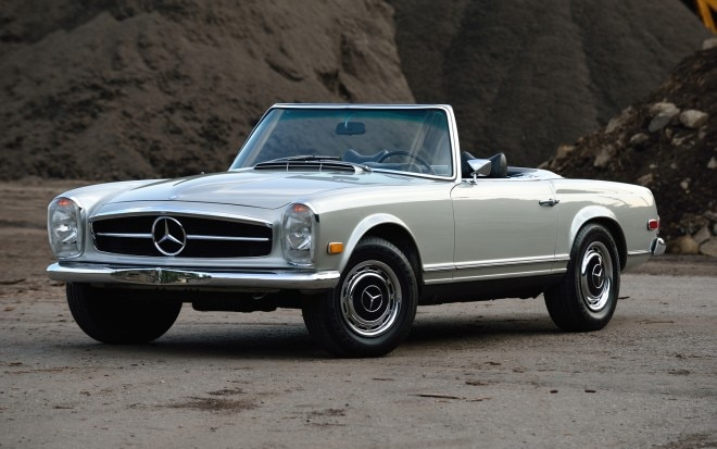1963 1971 Mercedes Benz SL Front Left View1 660x413