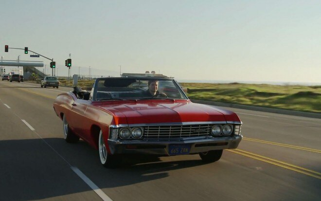 1967 Chevrolet Impala Convertible Red Driving1 660x413
