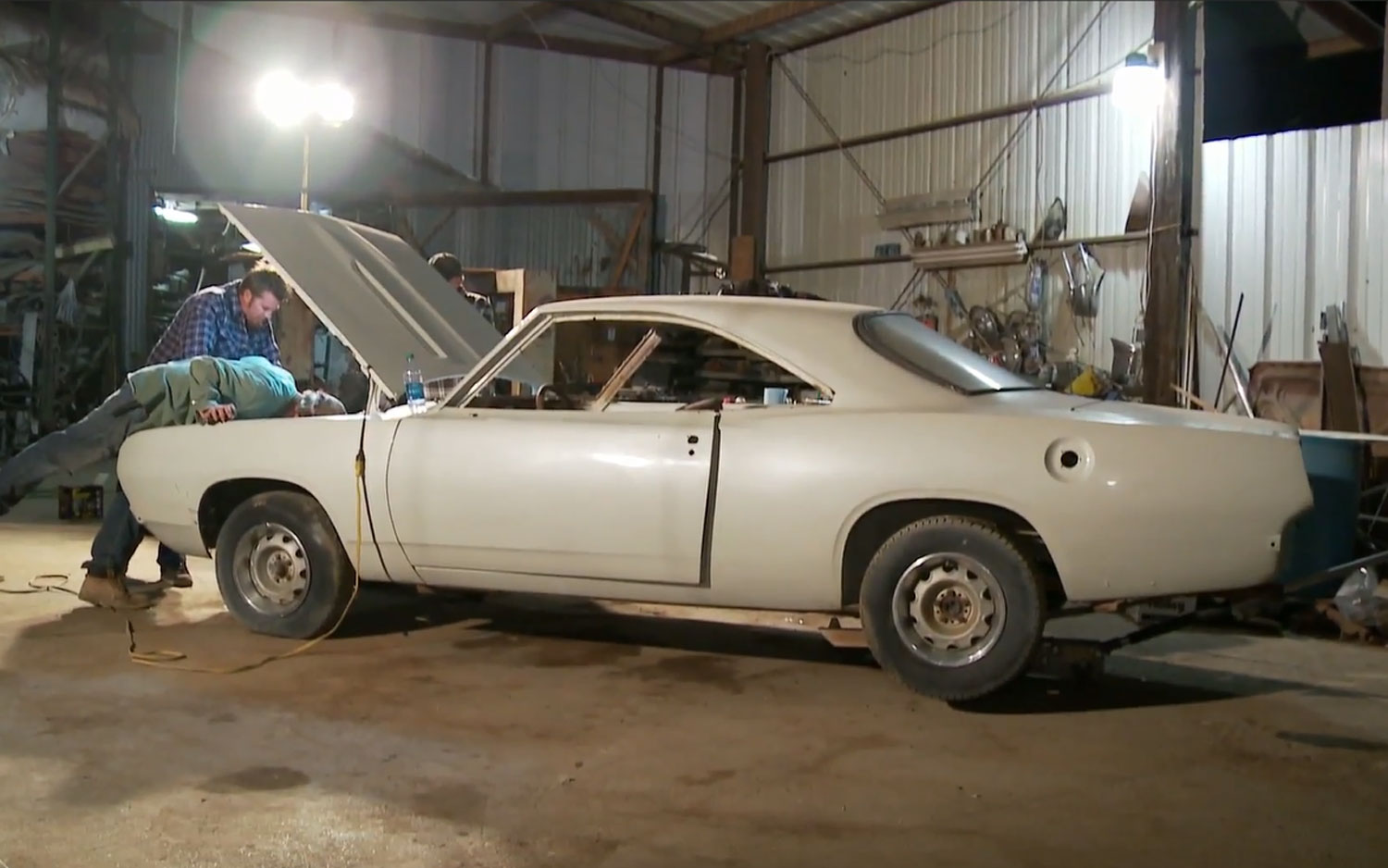 1967 Plymouth Barracuda Midnight Repairs1