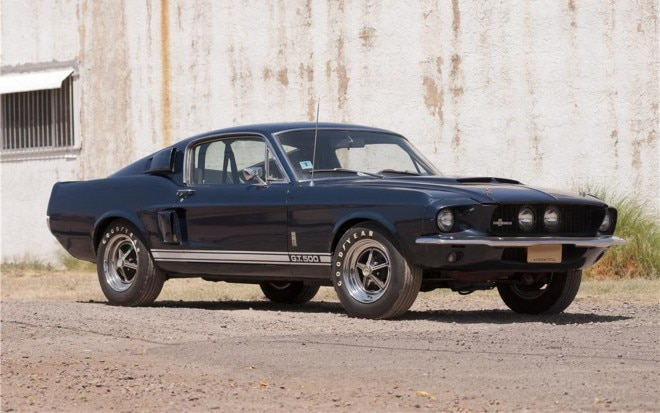 1967 Shelby GT500 Front Three Quarter View1 660x413