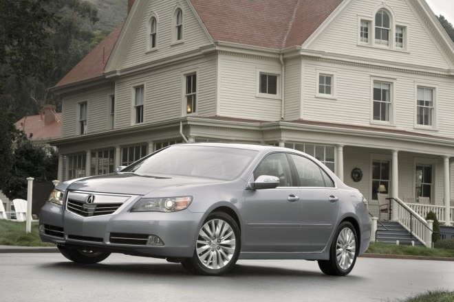 2012 Acura RL Front Three Quarter1 660x440