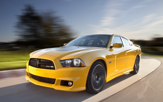 2012 Dodge Charger SRT8 Super Bee Front Three Quarter1 660x413
