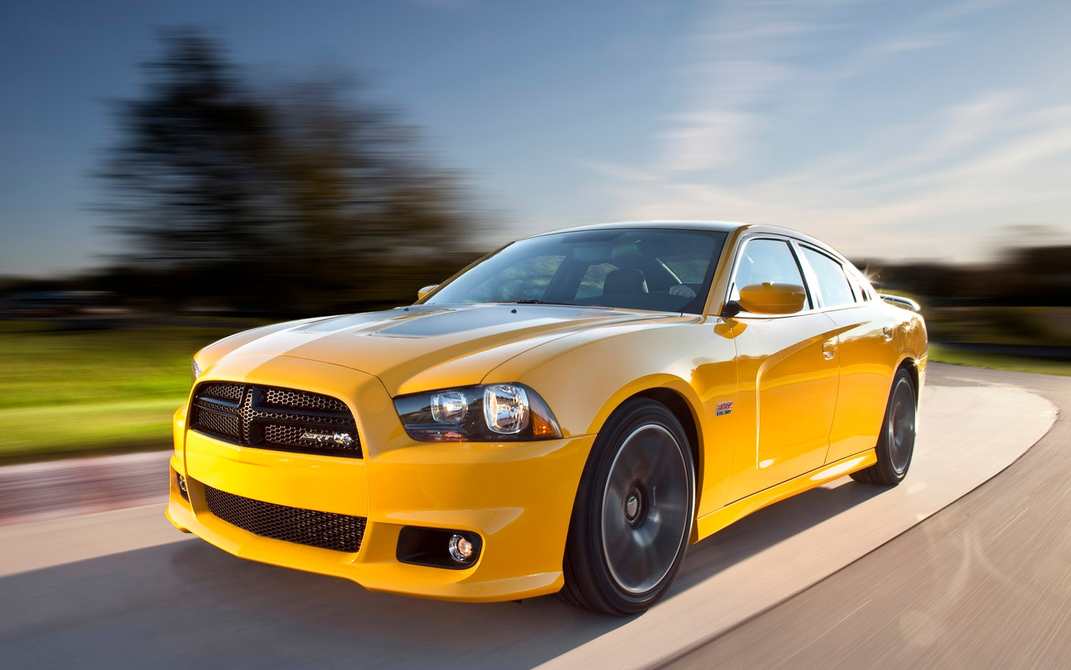 2012 Dodge Charger SRT8 Super Bee Front Three Quarter1