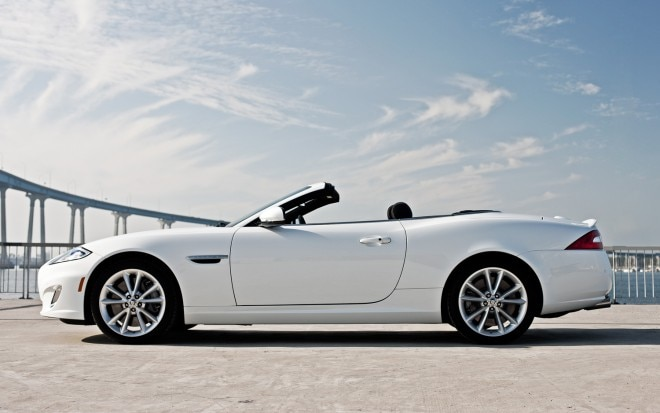 2012 Jaguar XKR Convertible Profile1 660x413