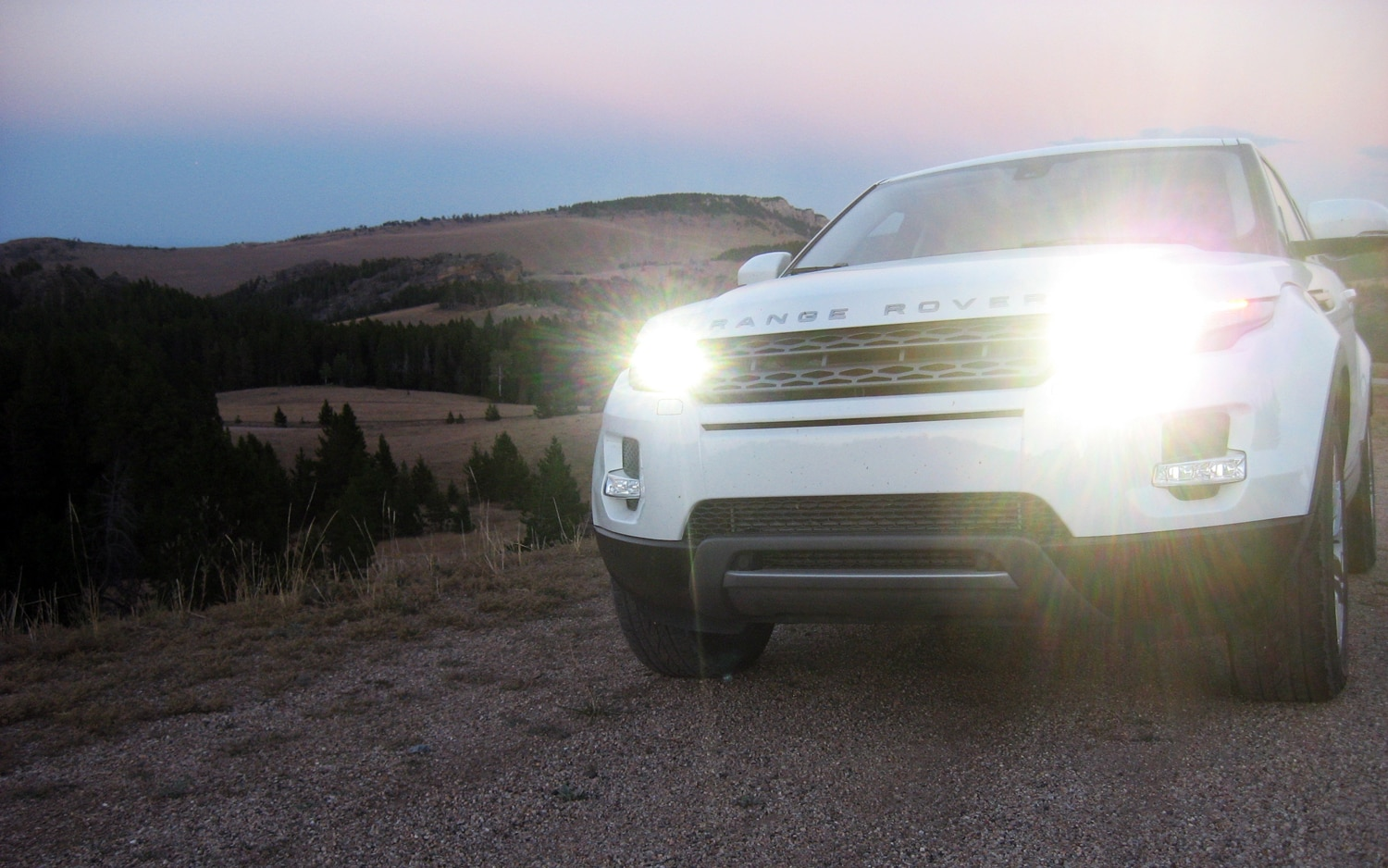 2012 Land Rover Range Rover Evoque Headlights1