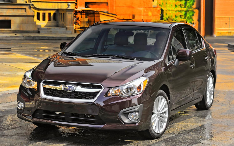 2012 Subaru Impreza Front