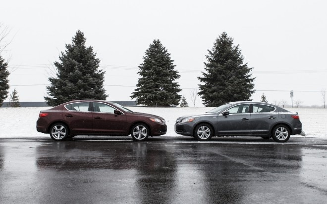 2013 Acura ILX Hybrid And 4S Acura ILX Side View 21 660x413