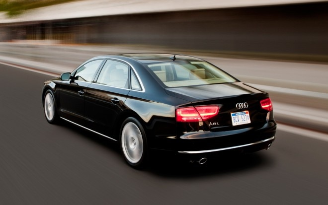 2013 Audi A8L 30T Rear Three Quarter 21 660x413