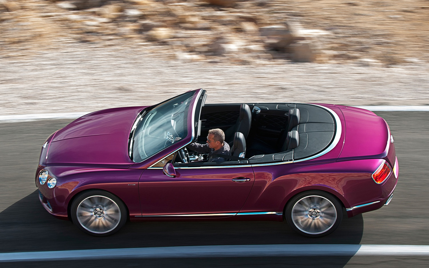 2013 Bentley Continental GTC Speed Profile In Motion11