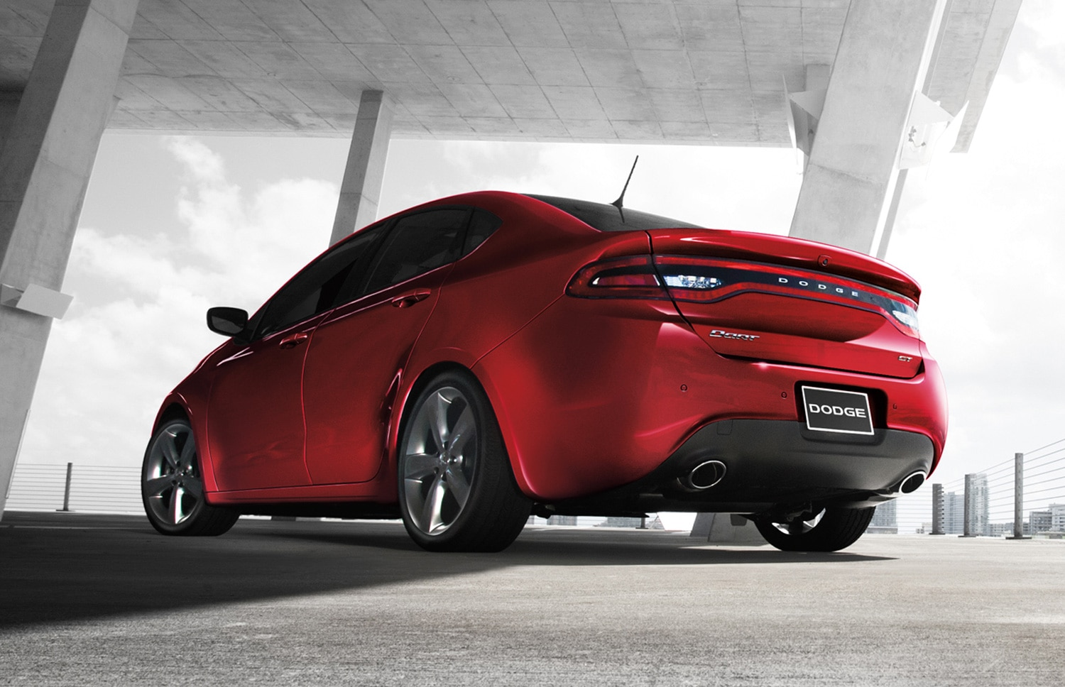 2013 Dodge Dart GT Rear View1