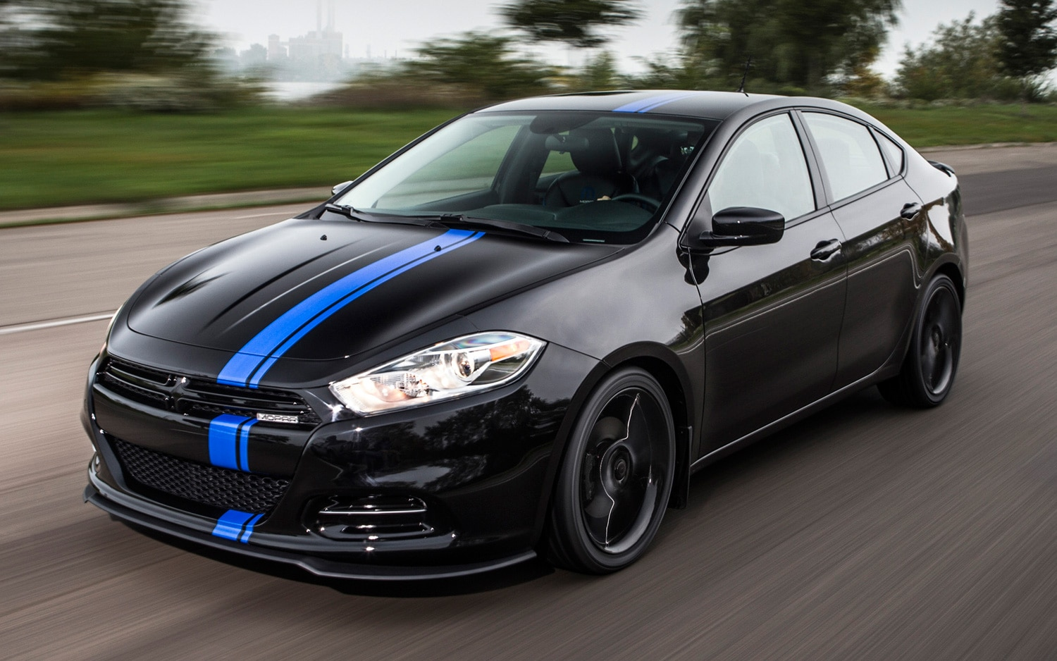 2013 Dodge Dart Mopar 13 Edition Front View In Motion1