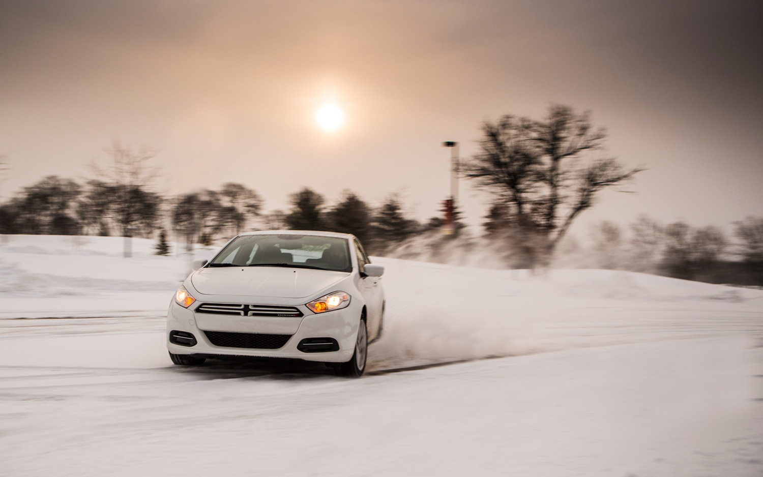 2013 Dodge Dart SXT Front View1