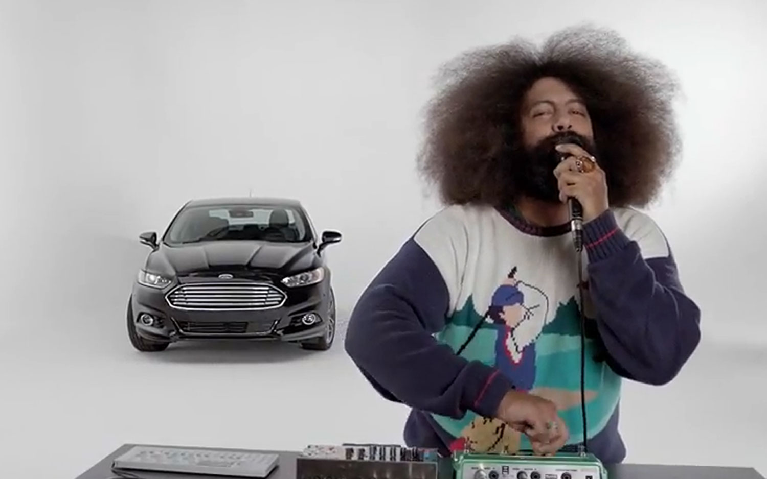 2013 Ford Fusion With Reggie Watts Rapping1
