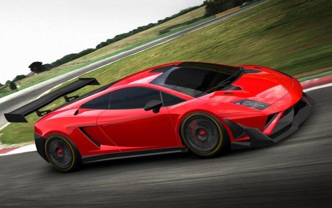 2013 Lamborghini Gallardo GT3 FL2 CGI Front Three Quarter1 660x413