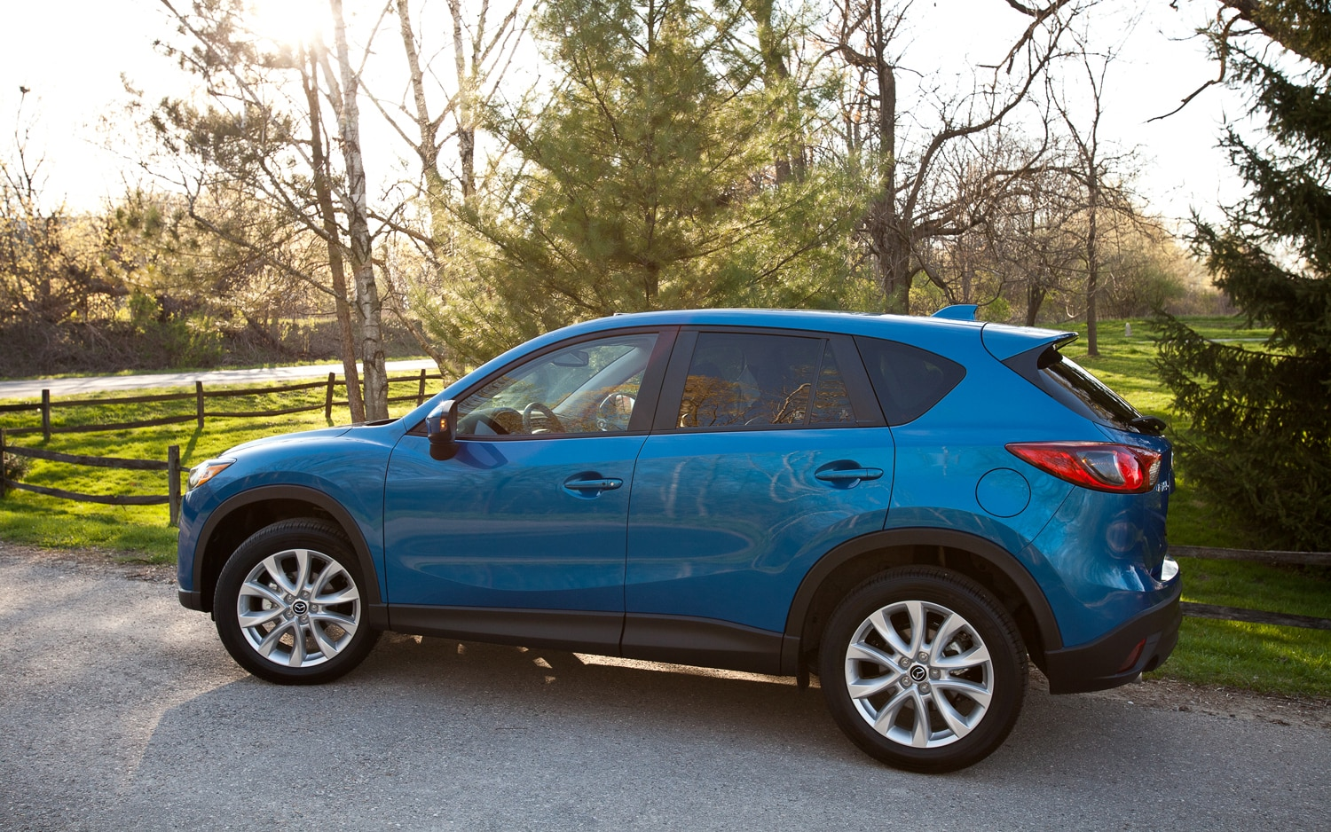 2013 Mazda CX 5 Grand Touring Left Side View 21