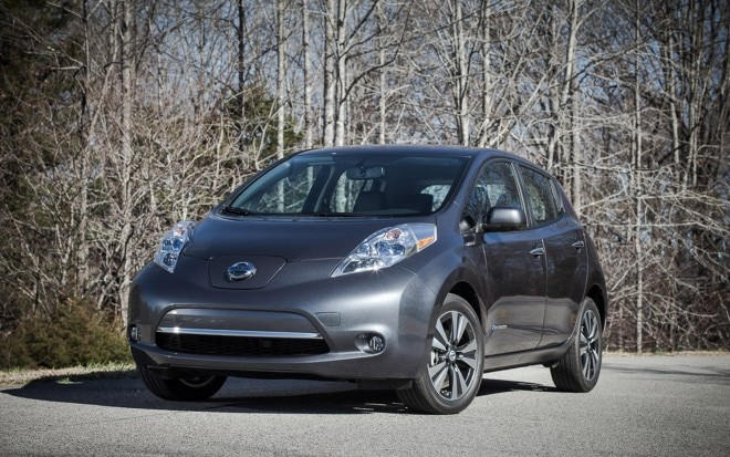 2013 Nissan Leaf Front Three Quarter1 660x413
