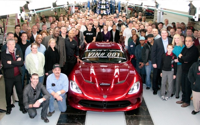 2013 SRT Viper Production Ceremony 11 660x413