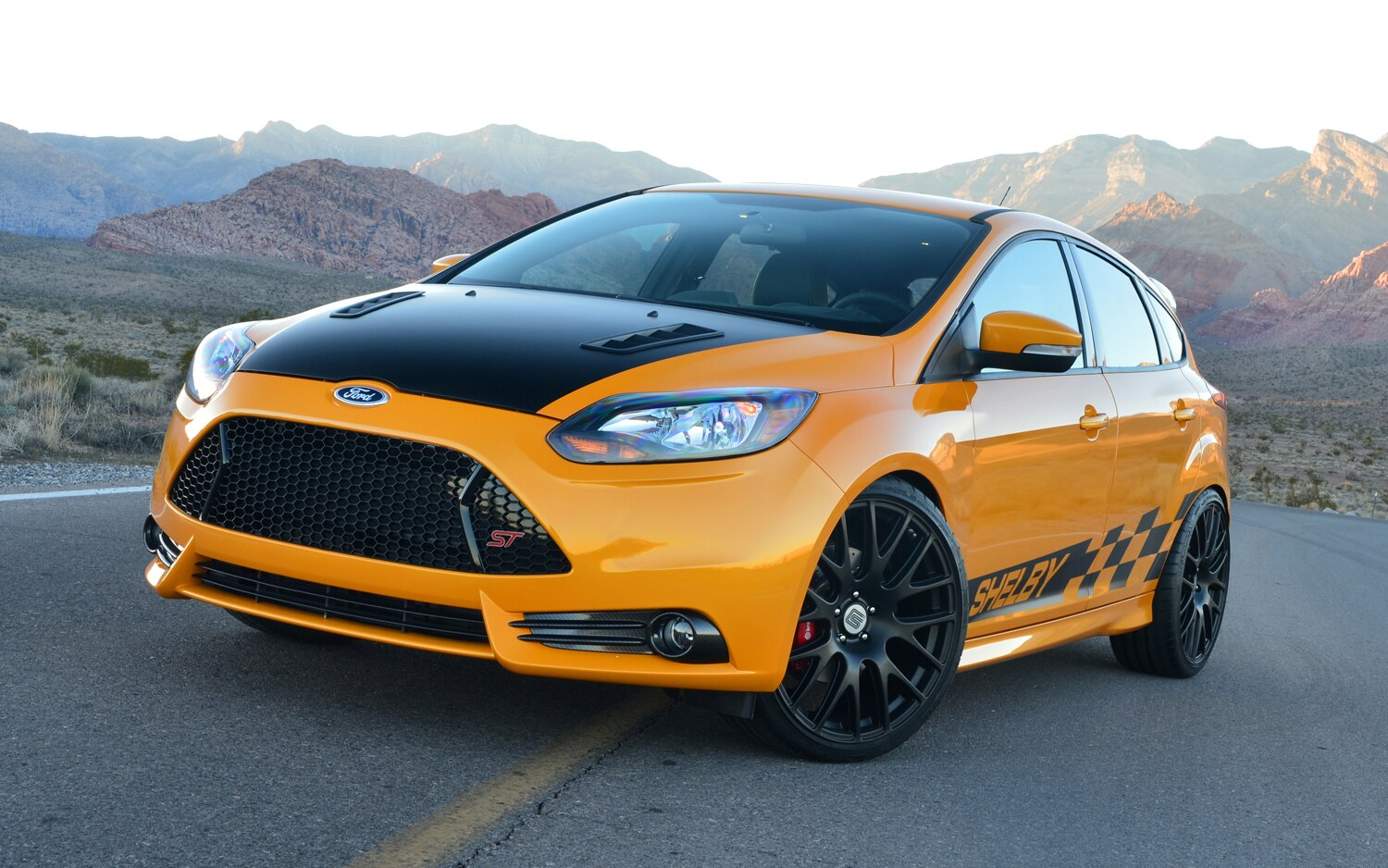2013 Shelby Focus ST Front1