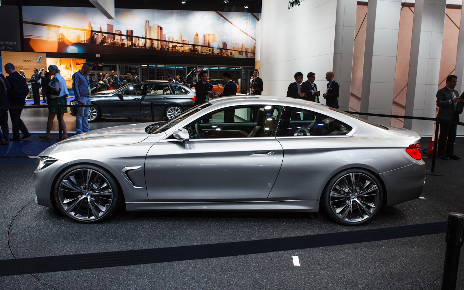 2014 BMW 4 Series Coupe Concept Left Side View1