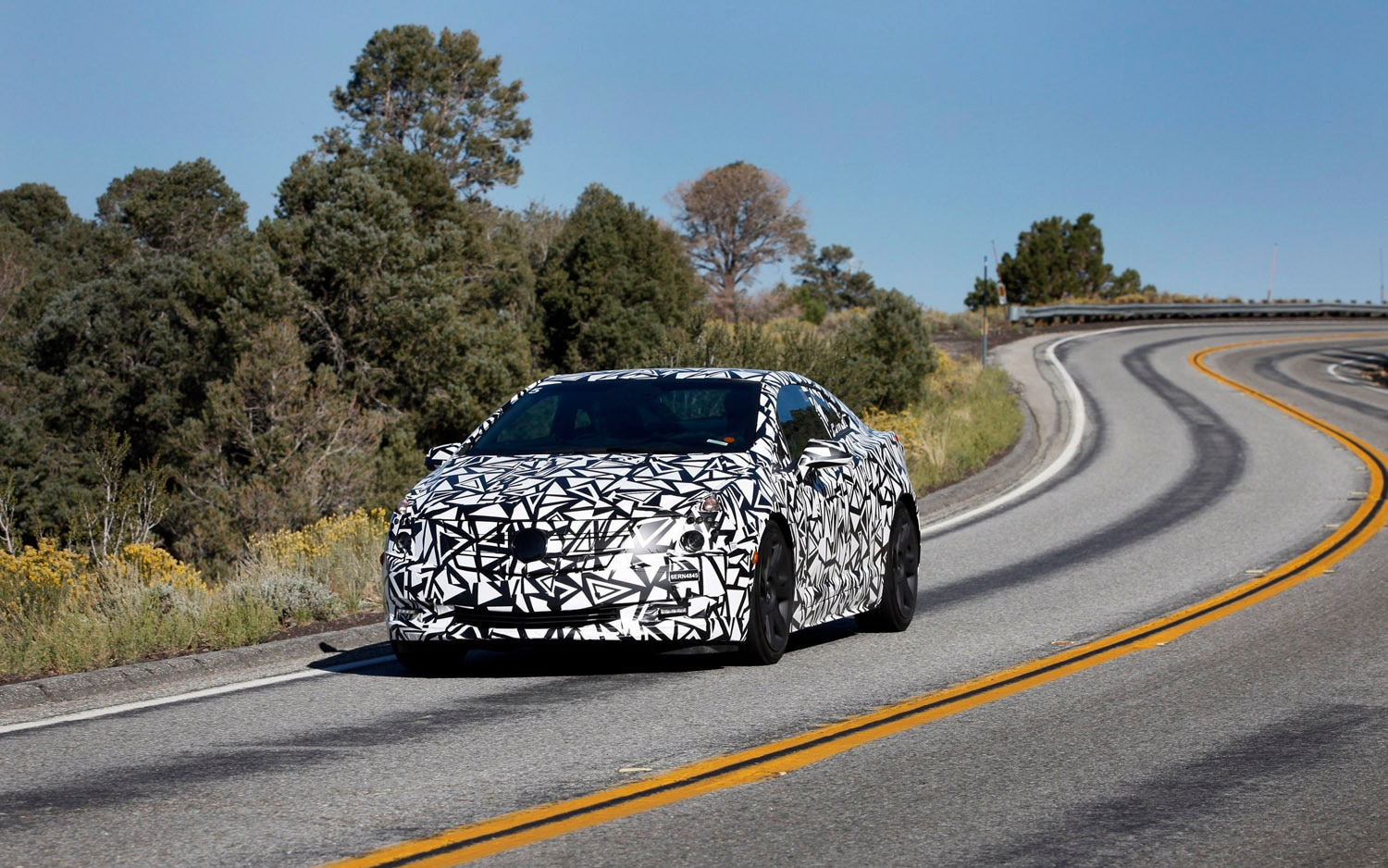 2014 Cadillac ELR Spied SoCal Front Three Quarter1