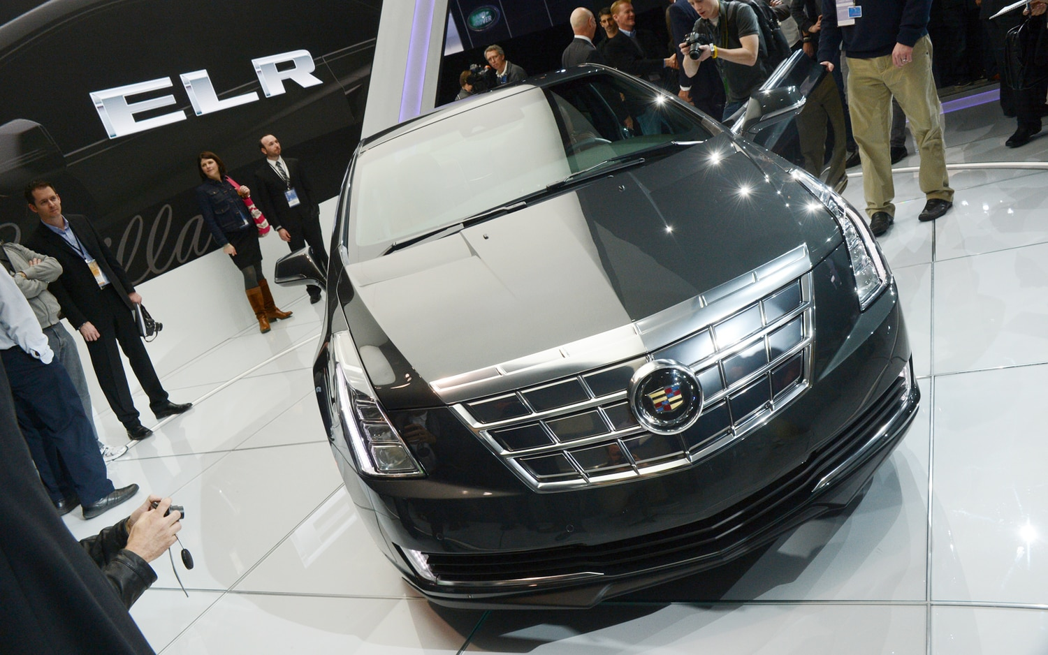 2014 Cadillac ELR Front End