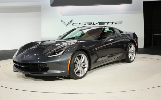 2014 Chevrolet Corvette Stingray Front Three Quarters1 660x413