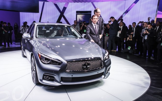 2014 Infiniti Q50 Front End 21