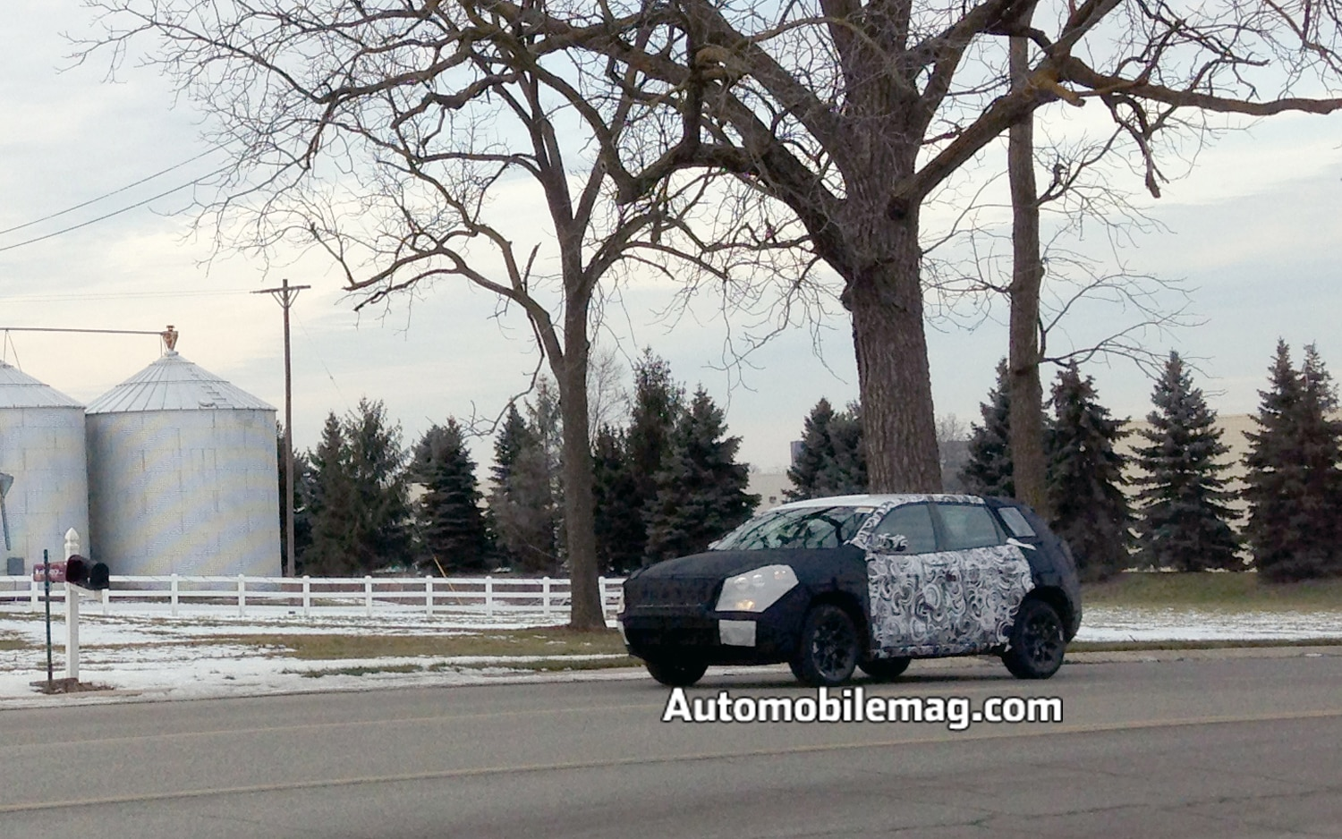 2014 Jeep Liberty Front Three Quarter Spied1