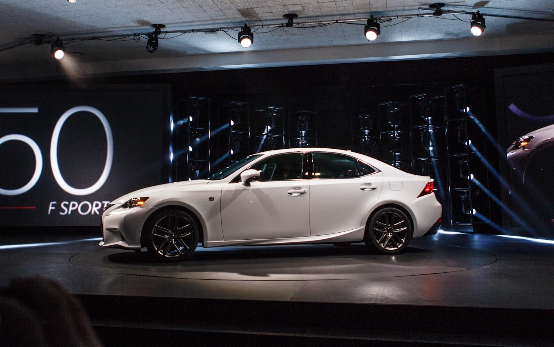 2014 Lexus IS Press Conference Patrick M Hoey 1