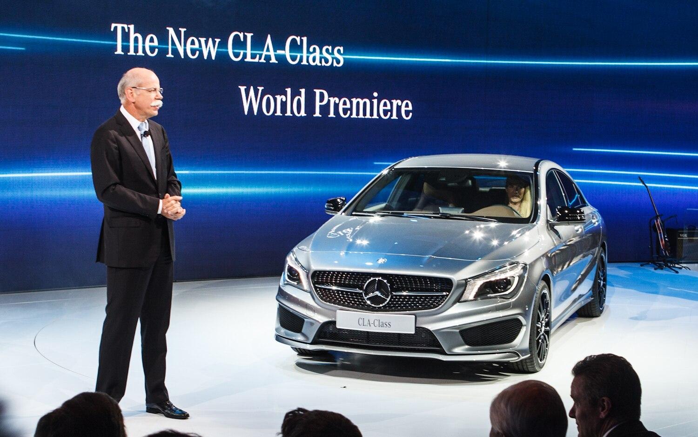 2014 Mercedes Benz CLA Patrick M Hoey Detroit Auto Show Preview 5