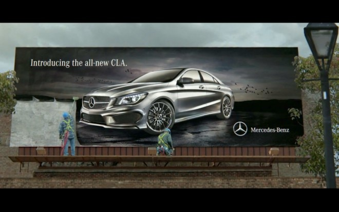 2014 Mercedes Benz CLA SB47 Billboard1 660x413