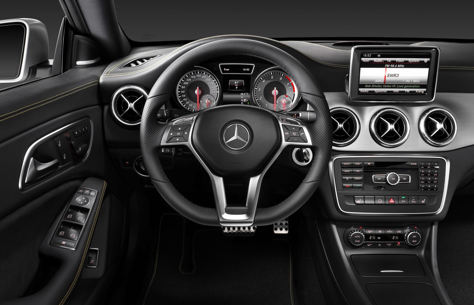 First Look: 2014 Mercedes-Benz CLA250 - Automobile Magazine | {Auto cockpit mercedes 1}