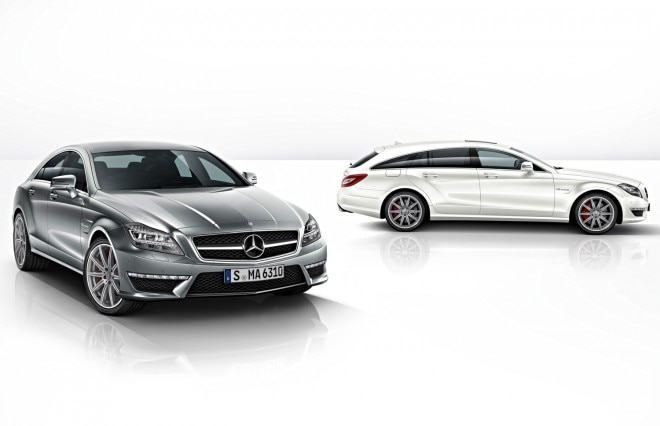 2014 Mercedes Benz CLS63 AMG Sedan And Shooting Brake1 660x426