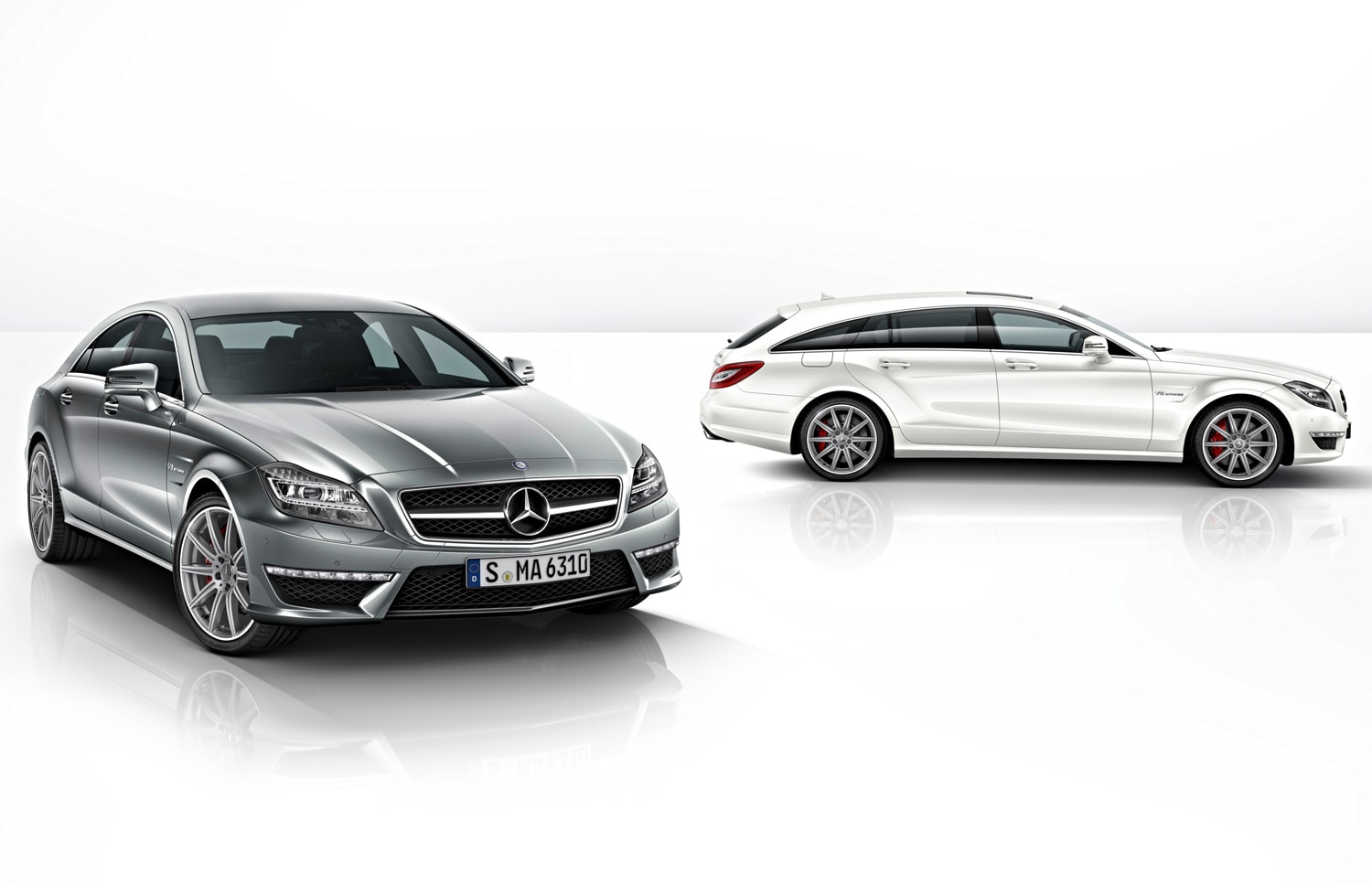 2014 Mercedes Benz CLS63 AMG Sedan And Shooting Brake1