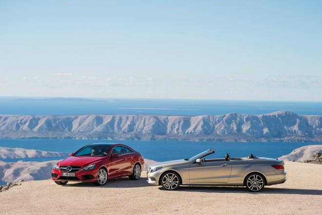 2014 Mercedes Benz E Class Coupe And Cabriolet Parked1 660x441