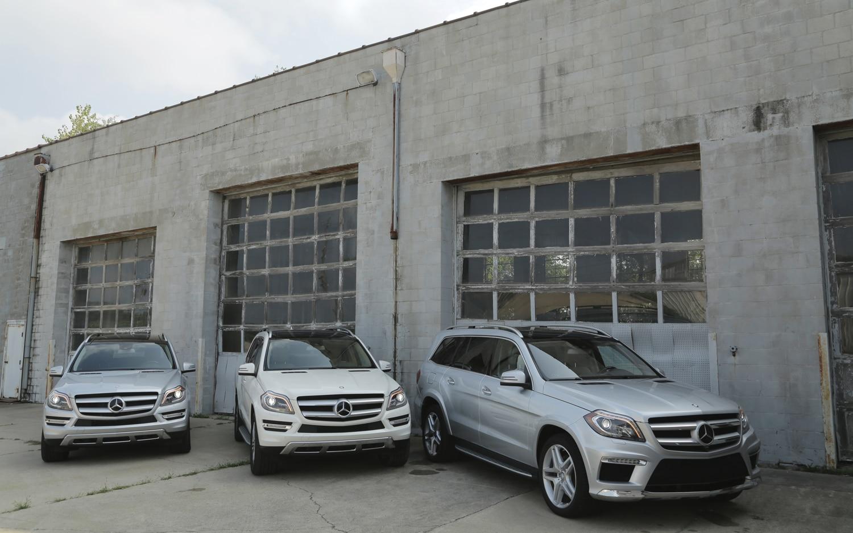 2014 Mercedes Benz GL Class Front View1