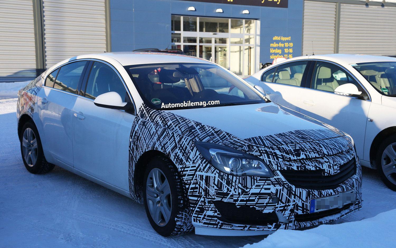 2014 Opel Insignia Test Mule Front Three Quarter 21