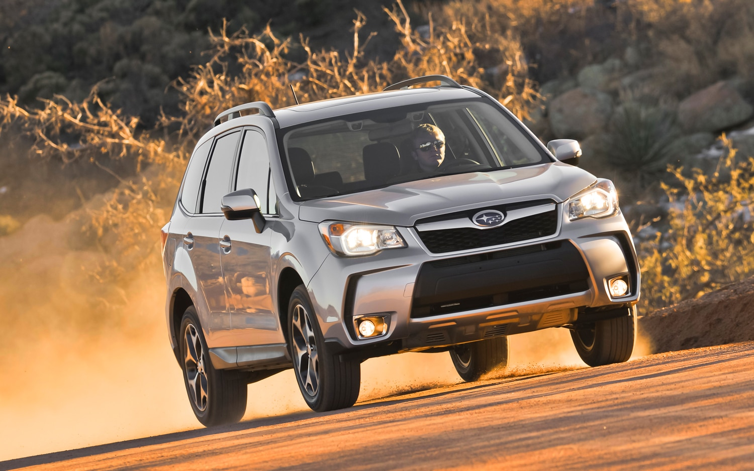 2014 Subaru Forester XT Front View 31